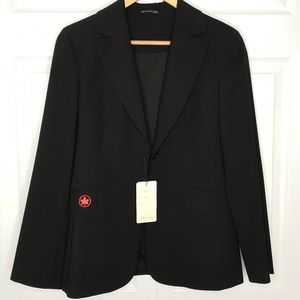 NWT Biz Comfort Wool Stretch Blazer